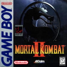 Mortal Kombat II Nintendo Game Boy cover artwork