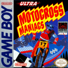 Motocross Maniacs Nintendo Game Boy cover artwork