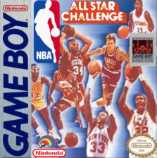 NBA All Star Challenge Nintendo Game Boy cover artwork