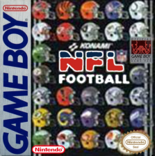 NFL Football Nintendo Game Boy cover artwork