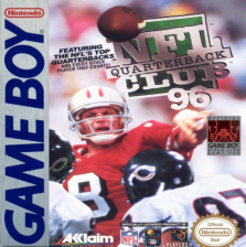 NFL Quarterback Club '96 Nintendo Game Boy cover artwork