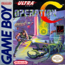 Operation C Nintendo Game Boy cover artwork