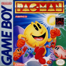 Pac-Man Nintendo Game Boy cover artwork