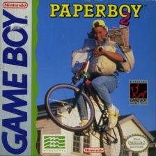 Paperboy 2 Nintendo Game Boy cover artwork