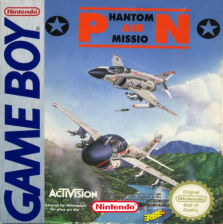 Phantom Air Mission Nintendo Game Boy cover artwork