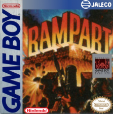 Rampart Nintendo Game Boy cover artwork