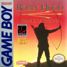 Robin Hood - Prince of Thieves Nintendo Game Boy cover artwork
