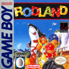 Rod Land Nintendo Game Boy cover artwork