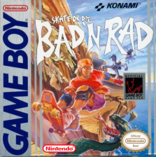 Skate or Die - Bad 'N Rad Nintendo Game Boy cover artwork