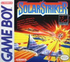 SolarStriker Nintendo Game Boy cover artwork