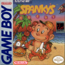 Spanky's Quest Nintendo Game Boy cover artwork