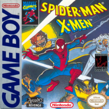 Spider-Man-X-Men Nintendo Game Boy cover artwork