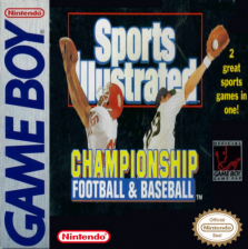Sports Illustrated - Football & Baseball Nintendo Game Boy cover artwork
