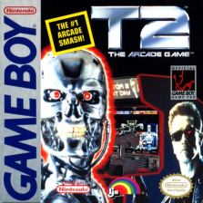 T2 - The Arcade Game Nintendo Game Boy cover artwork