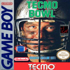 Tecmo Bowl Nintendo Game Boy cover artwork