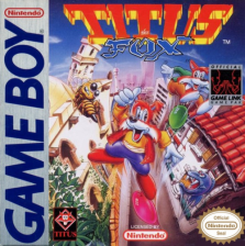 Titus the Fox to Marrakech and Back Nintendo Game Boy cover artwork