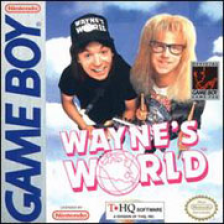Wayne's World Nintendo Game Boy cover artwork