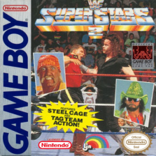 WWF Superstars 2 Nintendo Game Boy cover artwork