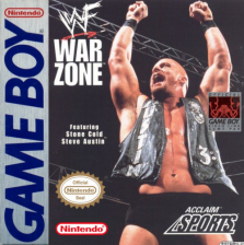 WWF War Zone Nintendo Game Boy cover artwork