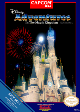 Adventures in the Magic Kingdom Nintendo NES cover artwork