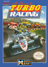 Al Unser Jr. Turbo Racing Nintendo NES cover artwork