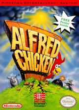 Alfred Chicken Nintendo NES cover artwork