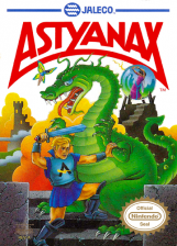 Astyanax Nintendo NES cover artwork
