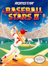 Baseball Stars II Nintendo NES cover artwork