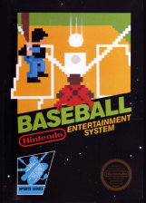 Baseball Nintendo NES cover artwork