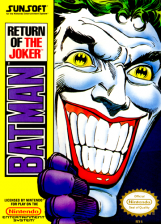 Batman - Return of the Joker Nintendo NES cover artwork