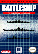 Battleship Nintendo NES cover artwork