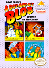 Boy and His Blob, A - Trouble on Blobolonia Nintendo NES cover artwork