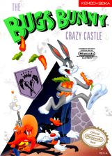 Bugs Bunny Crazy Castle, The Nintendo NES cover artwork