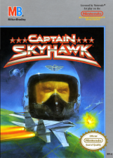 Captain Skyhawk Nintendo NES cover artwork