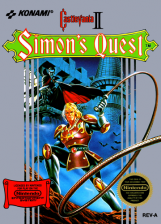 Castlevania II - Simon's Quest Nintendo NES cover artwork