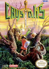 Crystalis Nintendo NES cover artwork