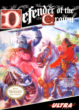 Defender of the Crown Nintendo NES cover artwork