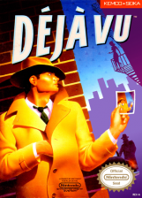 Deja Vu Nintendo NES cover artwork