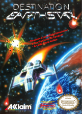 Destination Earthstar Nintendo NES cover artwork
