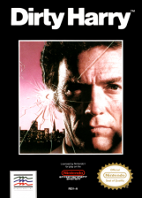 Dirty Harry Nintendo NES cover artwork