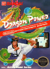 Dragon Power Nintendo NES cover artwork