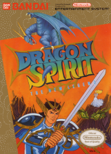 Dragon Spirit - The New Legend Nintendo NES cover artwork