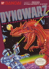 Dynowarz - Destruction of Spondylus Nintendo NES cover artwork