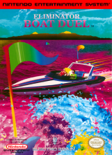 Eliminator Boat Duel Nintendo NES cover artwork
