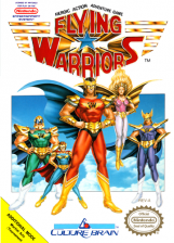 Flying Warriors Nintendo NES cover artwork