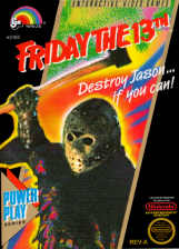 Friday the 13th Nintendo NES cover artwork