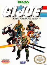 G.I. Joe - A Real American Hero Nintendo NES cover artwork