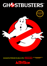 Ghostbusters Nintendo NES cover artwork