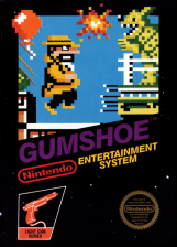 Gumshoe Nintendo NES cover artwork