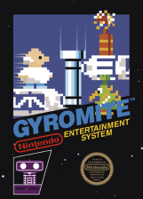 Gyromite Nintendo NES cover artwork